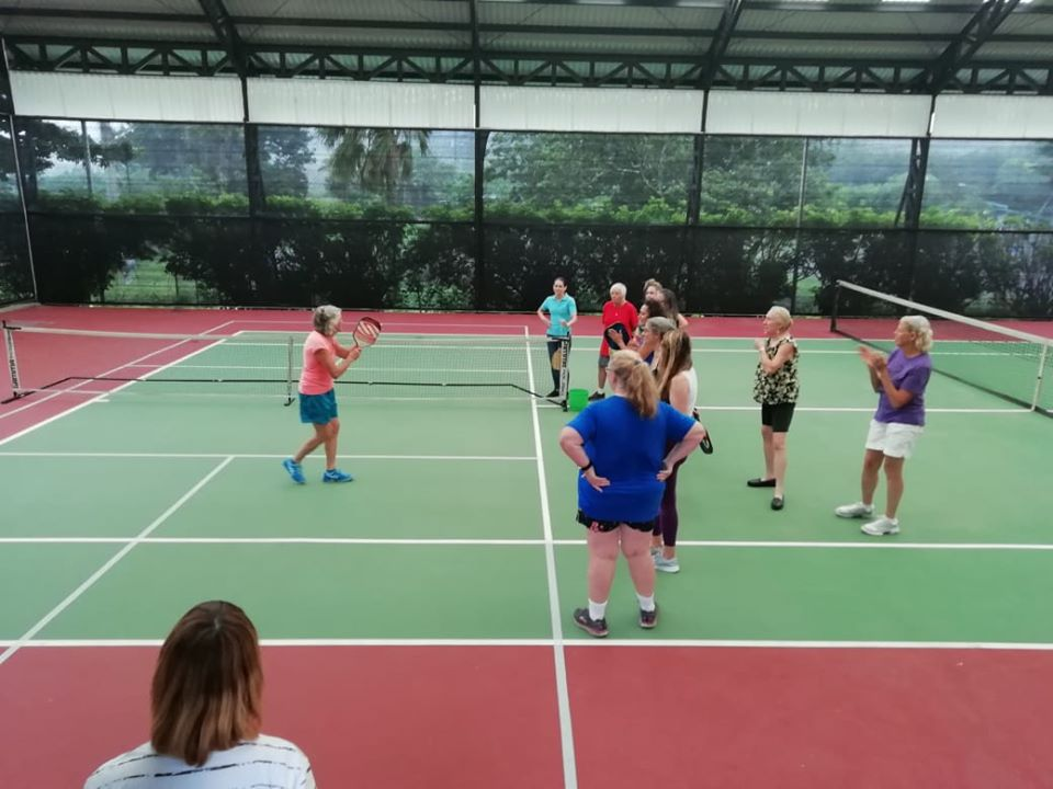 The Tennis & Pickleball Shack is the premiere covered tennis court + 2 pickleball courts in the Lake Arenal area.